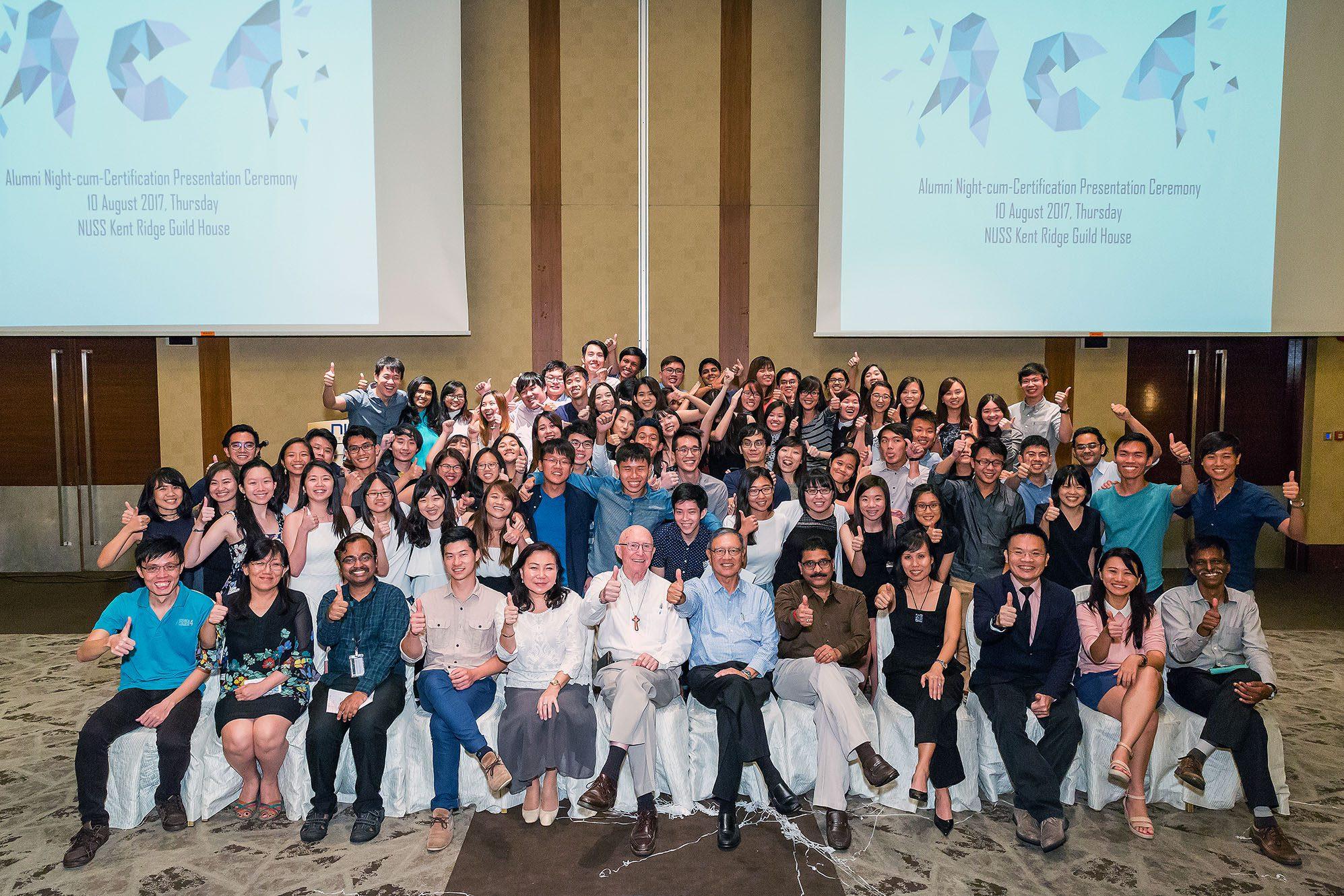 Alumni Night-cum-Certificate Presentation Ceremony 2017