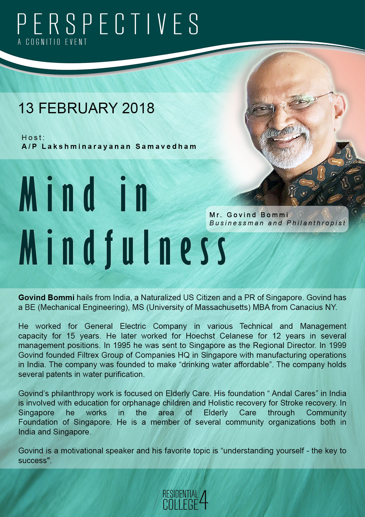 Mind in Mindfulness Poster